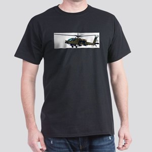 Helicopter Black T-Shirt