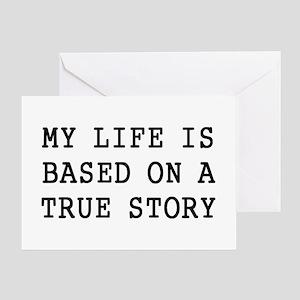 My Life Greeting Card