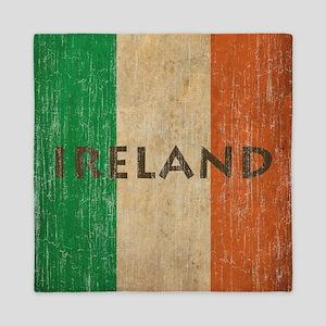 Vintage Ireland Queen Duvet