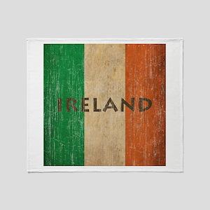 Vintage Ireland Throw Blanket
