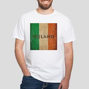 Vintage Ireland White T-Shirt