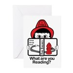 Fire Fighter Greeting Cards (Pk of 20)
