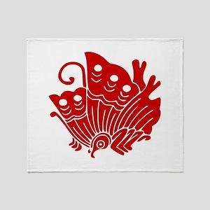 Ageha-cho Throw Blanket