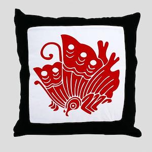 Ageha-cho Throw Pillow