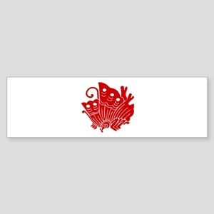 Ageha-cho Sticker (Bumper)