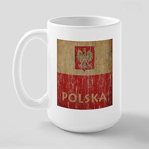 Vintage Polska Large Mug