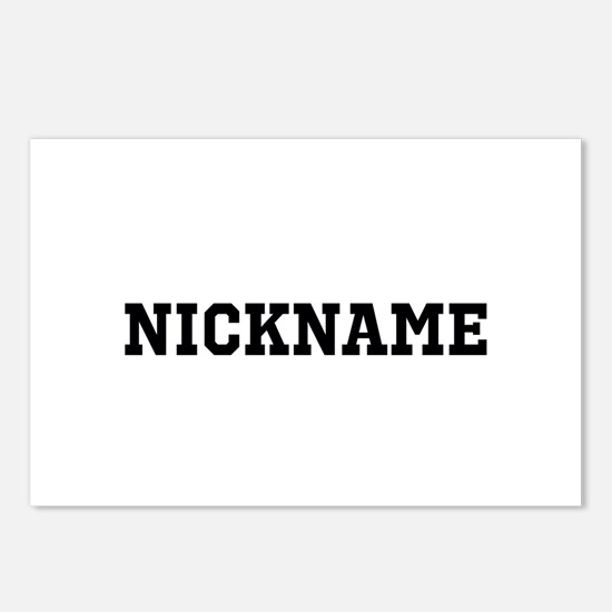 Nickname Personalized Postcards (Package of 8)