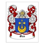 Sas Coat of Arms Small Poster