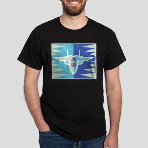 Jet17 Black T-Shirt