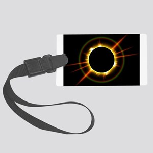 Ring of Fire Eclipse Large Luggage Tag