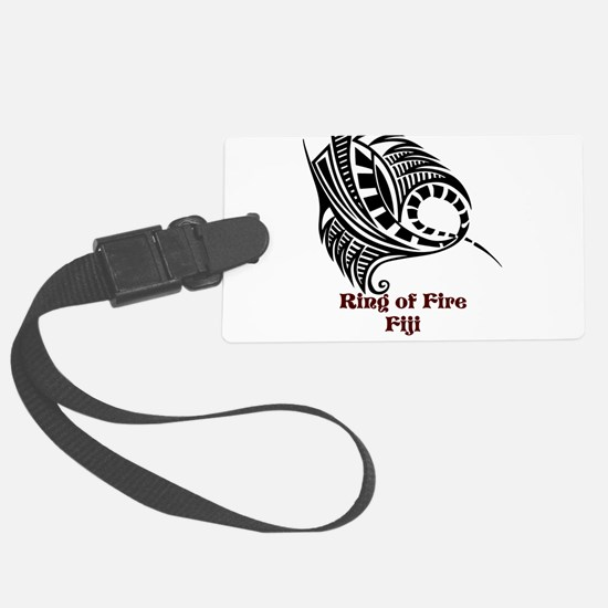 Ring of Fire Manta Ray Luggage Tag