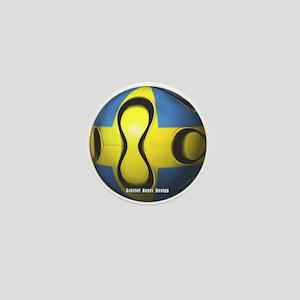 Sweden Soccer Mini Button