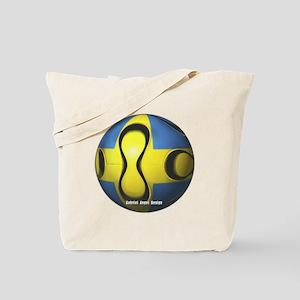 Sweden Soccer Tote Bag