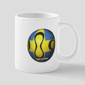 Sweden Soccer Mug