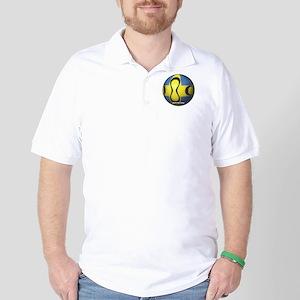 Sweden Soccer Golf Shirt