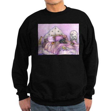 Sighthounds slumber party Sweatshirt (dark)