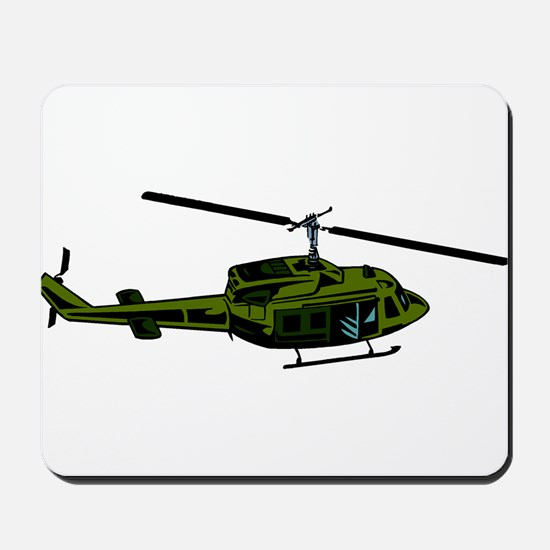 Helicopter4 Mousepad