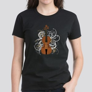 Violin Women's Dark T-Shirt