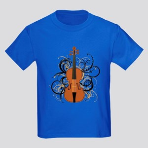 Violin Kids Dark T-Shirt