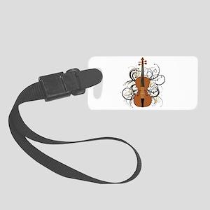 Violin Small Luggage Tag