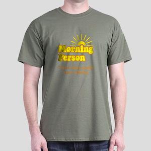 Morning Person Dark T-Shirt