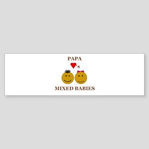 Biracial Baby/ Biracial Pride Bumper Sticker