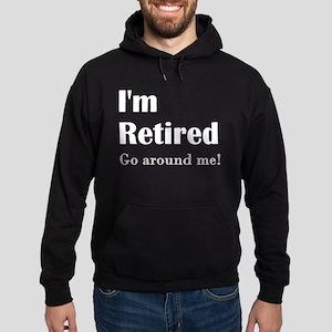 Im Retired Go Around Hoodie (dark)