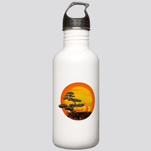 Sunset Bonsai Stainless Water Bottle 1.0L