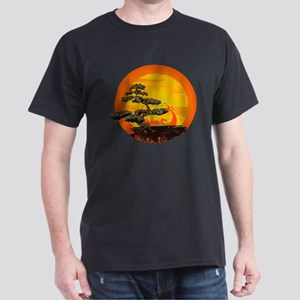 Sunset Bonsai Dark T-Shirt