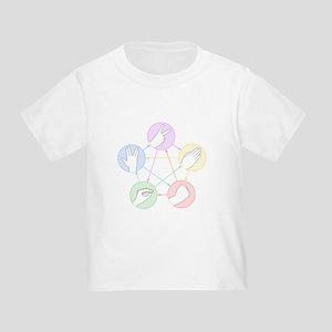 Rock Paper Scissors Lizard Spock Toddler T-Shirt