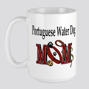 Portuguese Water Dog Large Mug