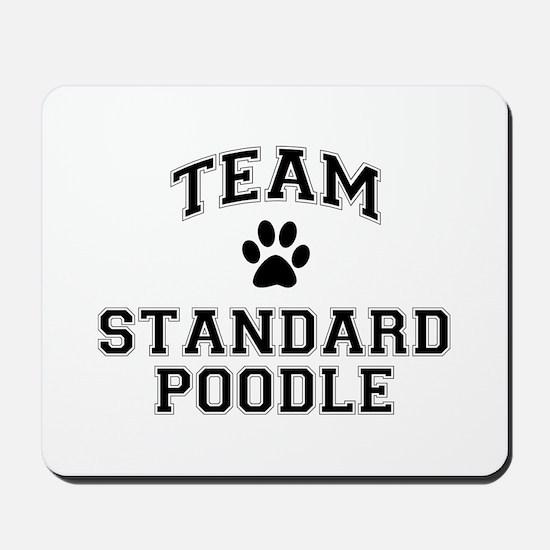 Team Standard Poodle Mousepad