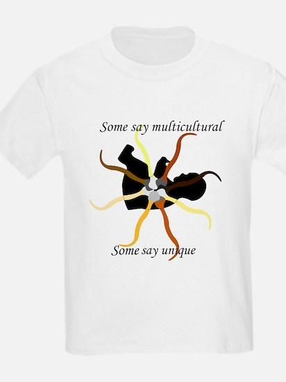 Multicultural / Diversity Kids T-Shirt