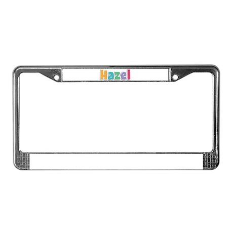 Hazel License Plate Frame