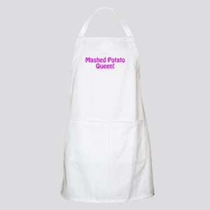 Mashed Potato Queen Apron