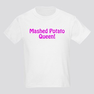 Mashed Potato Queen Kids Light T-Shirt