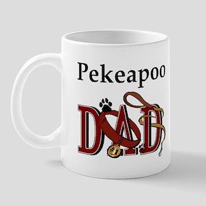 Pekeapoo Dad Mug
