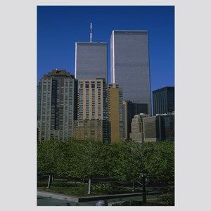 Buildings in a city, World Trade Center, New York