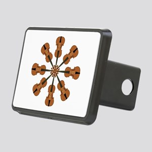 Circle of Violins Rectangular Hitch Cover