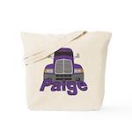 Trucker Paige Tote Bag
