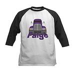 Trucker Paige Kids Baseball Jersey