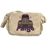 Trucker Paige Messenger Bag