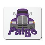 Trucker Paige Mousepad