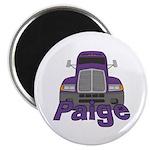 Trucker Paige Magnet
