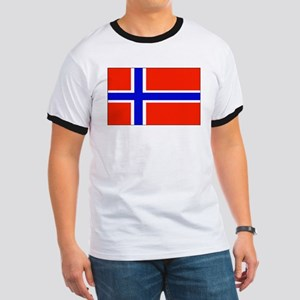 Norway Norwegian Blank Flag Ringer T