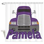 Trucker Pamela Shower Curtain