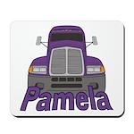 Trucker Pamela Mousepad