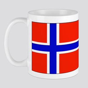 Norway Norwegian Blank Flag Mug