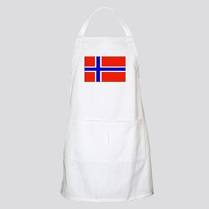 Norway Norwegian Blank Flag BBQ Apron