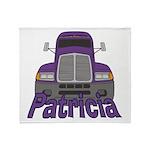 Trucker Patricia Throw Blanket